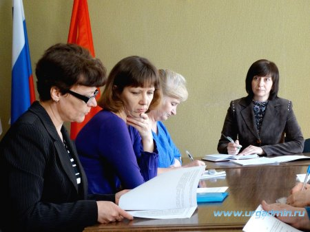 Заседание межведомственной комиссии по охране здоровья населения, проживающего на территории Юргамышского района