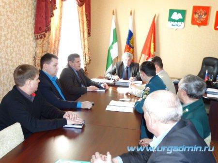 Состоялось заседание Комиссии по предупреждению и ликвидации чрезвычайных ситуаций и обеспечению пожарной безопасности в Юргамышском районе