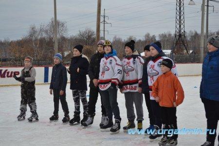 Спортивные состязания на льду