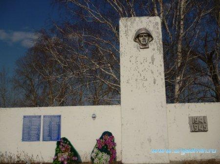 Паспорт мемориального объекта по увековечиванию военно-исторического наследия с. Падун Юргамышский район