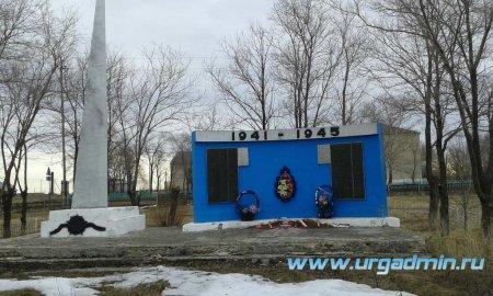 Паспорт мемориального объекта по увековечиванию военно-исторического наследия с. Гагарье Юргамышский район