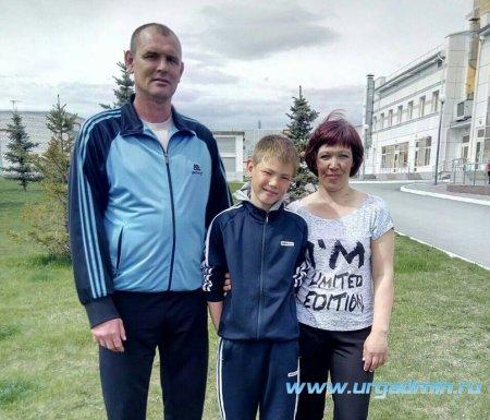 Финал областного фестиваля «Мама + Папа + Я = Спортивная семья»