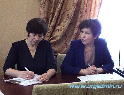 Аппаратное совещание прошло в Администрации Юргамышского района 20 февраля 2019 года