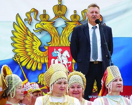 Праздничные мероприятия, посвященные Дню России прошли 12 июня на площади, прилегающей к районному Дому культуры