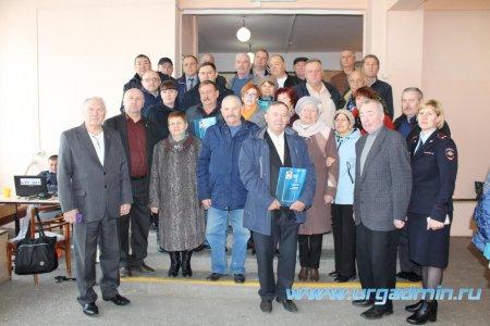 Собрание Совета ветеранов МВД Юргамышского и Мишкинского районов