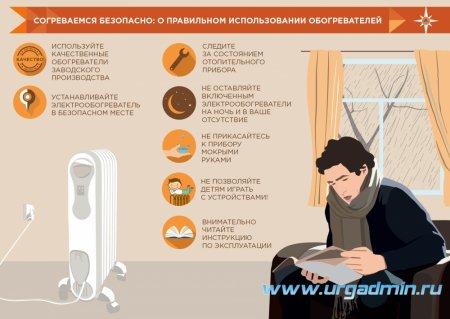 При похолодании повышаются риски возникновения пожаров