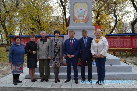 Торжественное открытие обелиска в с.Чинеево