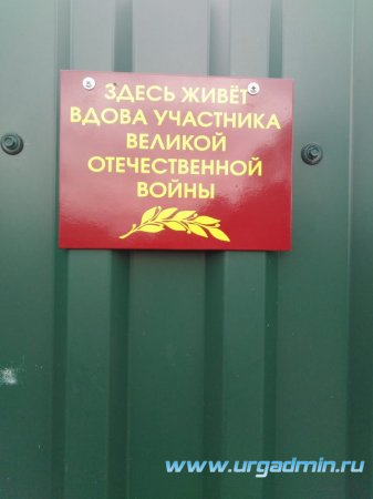 Акция «Вдовы участников Великой Отечественной войны»