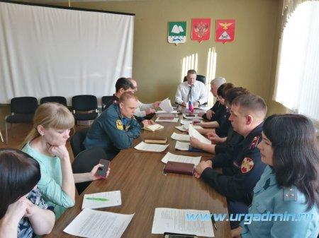 21 февраля 2020 года состоялось совместное заседание антитеррористической комиссии и оперативной группы в Юргамышском районе