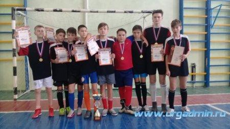 Соревнования по мини-футболу среди школьных спортивных клубов.