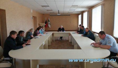 Заседания комиссии по предупреждению и ликвидации чрезвычайных ситуаций и обеспечению пожарной безопасности Администрации Юргамышского района