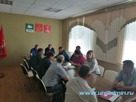 Комиссия по предупреждению и ликвидации чрезвычайных ситуаций и обеспечению пожарной безопасности Администрации Юргамышского района.